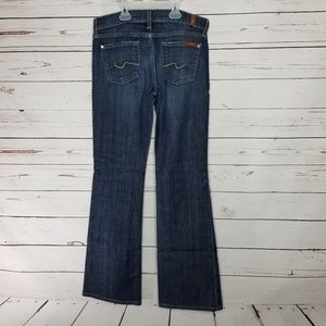 7FAM seven for all mankind bootcut womens 26